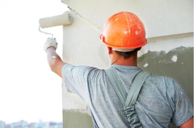 Cómo pintar paredes exteriores o fachadas