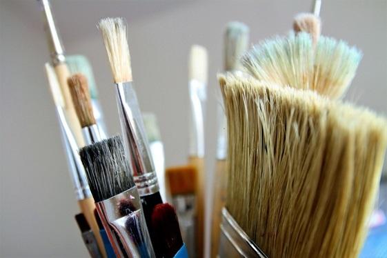 Cómo Limpiar Brochas y Pinceles en Casa