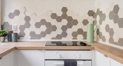 elegir entre azulejos o pintura para la cocina