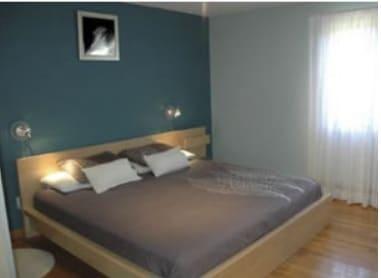 habitacion pintada en Getxo